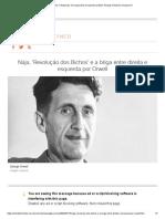 Direita X Esquerda - Em Qual Parte Do Espectro Político George Orwell Se Encaixava