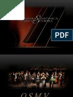 TEXTO Orquestra Sinfônica Mário Vieira