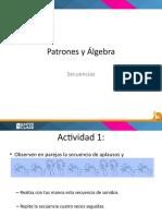 Presentacion Introduccion a patrones y secuencias