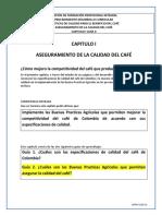 CAPITULO I GUIA II ASEGURAMIENTO DE LA CALIDAD - Prácticas de Calidad para el Beneficio del Café