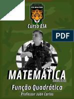 Esa Matemática - Ex. - Função Quadrática