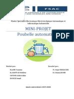 Rapport Final -Poubelle Automatique