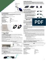Manual Bomba de Condensados Minisplit Midea