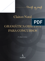 Gramática Objetiva Para Concursos - Claiton Natal