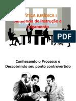 Aula de Audiência de Instrução e Julgamento