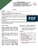 ATIVIDADE 2 ( 09.08.21) SUJEITO E PREDICADO