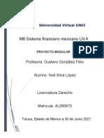 M6 Sistema financiero mexicano Proyecto Modular