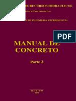 Manual de Concreto Parte 2 SRH Procedimientos de Laboratorio