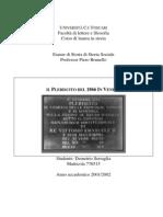 Il Plebiscito Del 1866 in Veneto di Demetrio Serraglia