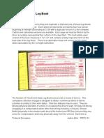 Technical Description - Log Books for Truckers