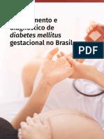 Rastreamento e diagnóstico de diabetes mellitus gestacional no brasil-2019