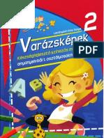 Varazskepek 2. Keszsegfejleszto szinezos munkafuzet anyanyelvbol 1.oszt - Manoka