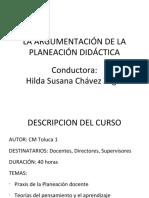 La Argumentación de La Planeación Didáctica 1