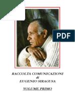 Eugenio Siragusa Volume 1
