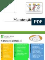 Manutenção - Aula 05 - Planejamento Da Manutenção