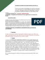Exercice de Methodologie de La Recherche 2