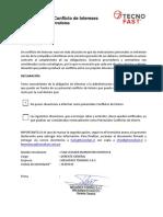Formulario Conflicto de Interés Proveedores y Contratistas[2947]