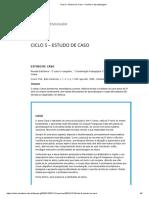 Ciclo 5 – Estudo de Caso – Família e Aprendizagem