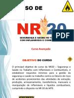 Curso NR20 - Curso Avançado