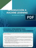 Introducción a ML
