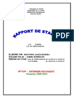Rapport Stage Echafchaouni - Elmers