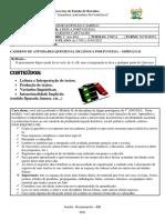 1º ANO EJA E.L.C Português Modulo 02