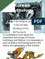 Korean Mythology