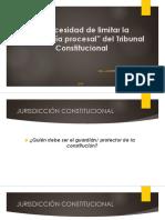 La necesidad de limitar la Autonomía Procesal del Tribunal Constitucional Peruano