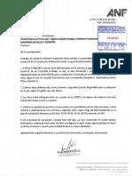 Cartas Ministerio de Salud