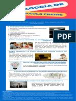 Actividad 1 - Infografía Pedagogía de Paulo Freire