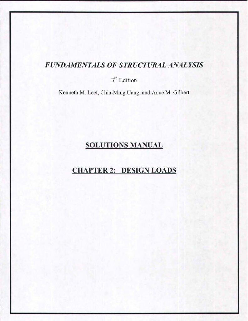 leet fundamstructanalysis 3rd ism rh scribd com Elemental Stiffness Matrix Truss Stiffness Matrix