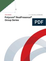 0 Notice Polycom RealPresenceGroup Ug Fr