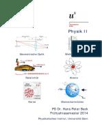 Physik II-Skript 2014