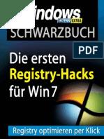 Schwarzbuch - Windows 7-Registry-Tricks