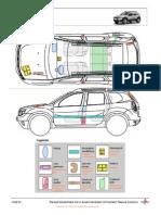 Hoja de rescate Dacia Duster