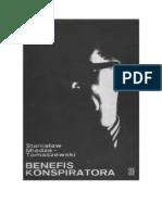 Stanisław Miedza-Tomaszewski - Benefis konspiratora - 1977 (zorg)