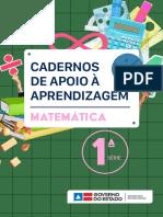 Caderno 1serie Matematica Unidade1