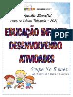 1ª APOSTILA - ED. INF. 4 e 5 ANOS - 1º BIMESTRE