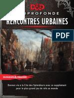 D&D 5 - Waterdeep - Rencontres urbaines