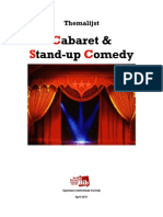 Themalijst Stand-Up Comedy