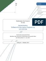 Bachelorstudium Software and Information Engineering 2021