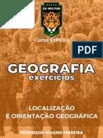 GEOGRAFIA -  Ex. - Localização e Orientação Geográfica