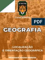 GEOGRAFIA -  Localização e orientação geográfica