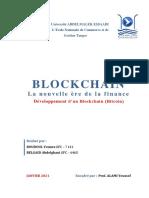 Blockchain nouvelle ère de la finance