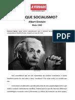 Documento 98 Albert Einstein Por Que o Socialismo