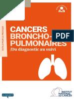 Cancers Broncho Pulmonaires Du Diagnostic Au Suivi 20161129