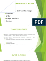 PLANIFICAR LA RESPUESTA AL RIESGO (4)