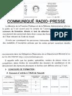 Tableau Recapitutatifs Concours Fr