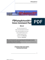 FSFlyingSchool Voice Command Pack Manual