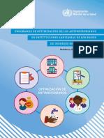PROGRAMAS DE OPTIMIZACIÓN DE LOS ANTIMICROBIANOS